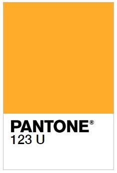 Nuevo Color Todoser PANTONE 123 U