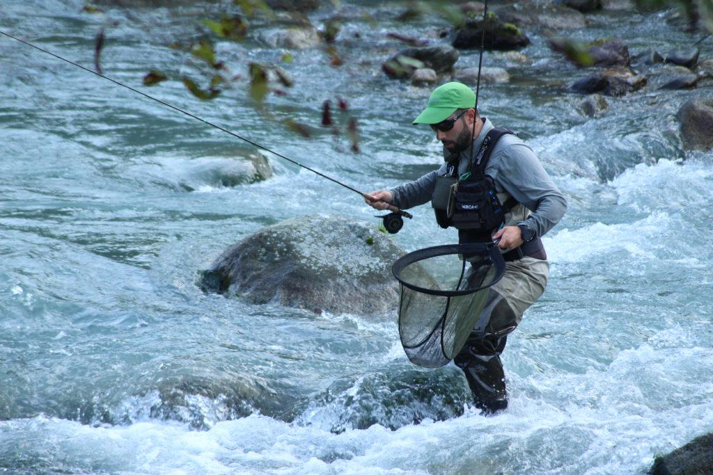 David Arcay, deportista de élite en Pesca de Salmónidos Mosca